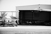 Old Aircraft Prints - Key West Biplanes Hangar At Key West International Airport Florida Keys Usa Print by Joe Fox