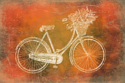 Beach Cruiser Posters - Key West Cruiser Poster by Brandi Fitzgerald