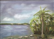 Featured Pastels Originals - Key West by Katalin Kovacs