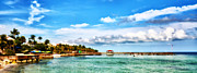 Pier Digital Art - Key West Paradise by Bill Cannon