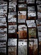 Abstracted Photo Prints - Keyboard Print by Odd Jeppesen