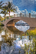 Florida Bridges Prints - Keyhole Print by Debra and Dave Vanderlaan