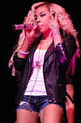 Celebrity Images Prints - Keyshia Cole 12 Print by Elgin Edmonds