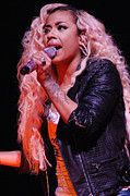 Celebrity Images Framed Prints - Keyshia Cole 243 Framed Print by Elgin Edmonds
