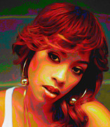 Cole Posters - Keyshia Cole Poster by Byron Fli Walker