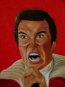Captain Kirk Painting Posters - Khan Poster by Stacie  Winright