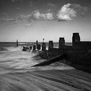 Dayne Prints - Kicked In The Groyne Print by Dayne Reast