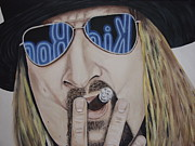 Rock Star Painting Originals - Kid Rock by Dean Stephens