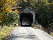 Grafton Vermont Prints - Kidder Hill Bridge Print by Catherine Gagne