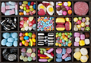 Colorful Bottles Framed Prints - Kids Sweets Framed Print by Tim Gainey