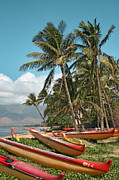 Tropical Photographs Prints - Kihei Maui Hawaii Print by Sharon Mau