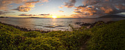 Brad Scott - Kihei Sunset Panorama