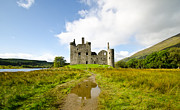 Ancient Ruins Prints - Kilchurn Castle 2 Print by Chris Thaxter