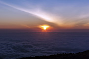 Mt. Kilimanjaro Art - Kilimanjaro Sunrise Above a Sea of Clouds II by Scott Hansen
