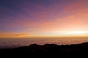 Mt.kilimanjaro Prints - Kilimanjaro Sunrise Above a Sea of Clouds III Print by Scott Hansen