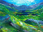 Irish Impressionist Painting Framed Prints - Killarney the Kingdom of Kerry Framed Print by Conor Murphy