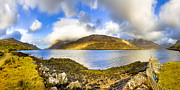 Killary Fjord Prints - Killary Fjord - Irish Panorama Print by Mark E Tisdale