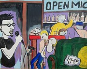Modesto Paintings - Killing - Open MIc by James  Christiansen