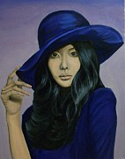 Paintings Available As Prints - Kim Ah Joong by Phillip Compton