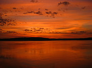 Laura Hiesinger Metal Prints - Kimberley Sunset Metal Print by Laura Hiesinger