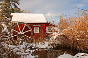 Michael Porchik - Kimberton Mill after snow