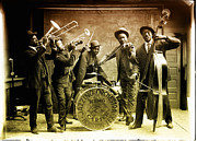 King Carter Jazzing Orchestra Print by Bill Cannon