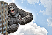King Kong Prints - King Kong Print by AK Photography