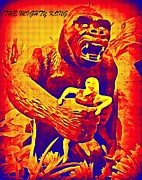 Halifax Art Work Posters - King Kong Poster by John Malone