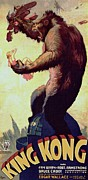 Movie Poster Gallery Posters - King Kong  Poster by Movie Poster Prints