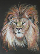 King Of The Jungle Print by Lora Duguay