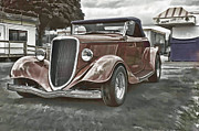 Ron Roberts Photography Framed Prints - King of the Road II Framed Print by Ron Roberts