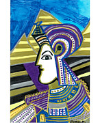 Archaeology Mixed Media - King Tut by Don Koester