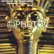 Tutankhamen Prints - King Tut -  Limited Edition Print by Hisham Ibrahim