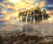 Bible Digital Art Prints - Kingdom Come Print by Tamer Elsharouni