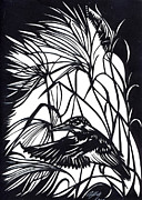 Kingfisher Originals - Kingfisher Paper Cut by Alfred Ng