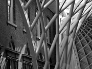 Concourse Digital Art Framed Prints - Kings Cross Concourse Framed Print by Bob Williams
