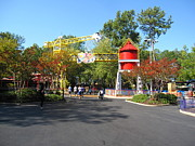 Pretty Prints - Kings Dominion - 121218 Print by DC Photographer