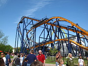 Kings Dominion - Dominator - 01131 Print by DC Photographer