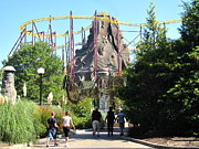 Volcano Framed Prints - Kings Dominion - Volcano - 12123 Framed Print by DC Photographer
