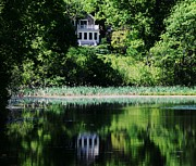 Medfield Metal Prints - Kingsbury Pond Metal Print by Marcus Dagan