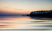 Sea Of Tranquility Framed Prints - Kingsdown  Framed Print by Ian Hufton