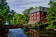 Kingston Digital Art Prints - Kingston Mill near Princeton New Jersey Print by Bill Cannon