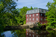 Kingston Digital Art Prints - Kingston Mill Princeton NJ Print by Bill Cannon