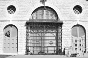 Kingston Prints - Kingston Penitentiary Entrance Building Print by Elaine Mikkelstrup