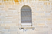 Window Bars Prints - Kingston Penitentiary Window Print by Elaine Mikkelstrup