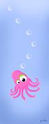 Kiniart Octopus Print by Kim Niles