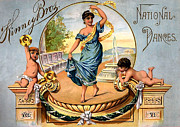 Dances Framed Prints - Kinney Bros National Dances Framed Print by Studio Artist