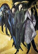 Expressionist Photos - Kirchner, Ernst Ludwig 1880-1938. Women by Everett