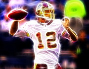 Redskins Posters - Kirk Cousins Washington Redskins Poster by Paul Van Scott