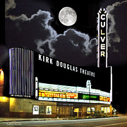 Motion Pictures Prints - Kirk Douglas Theatre Print by Chuck Staley
